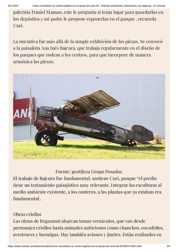Cómo convirtieron un centro logístico en un paseo de Land Art - Noticias económicas, financieras y de negocios - El Cronista_page-0002