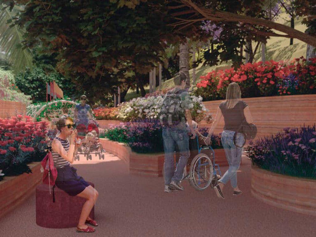El municipio y las entidades que lo acompañan buscan que los visitantes conozcan la flora de la ciudad y que, en otras escalas, la misma idea pueda replicarse en otros espacios.